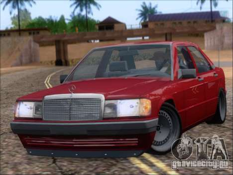 Mercedes Benz 190E Drift V8 для GTA San Andreas