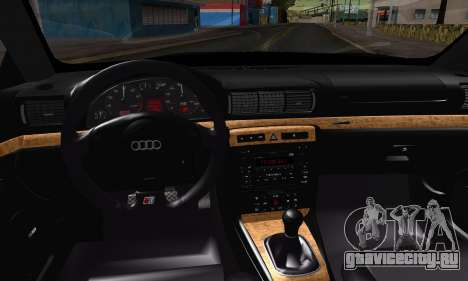 Audi S4 2000 для GTA San Andreas вид справа