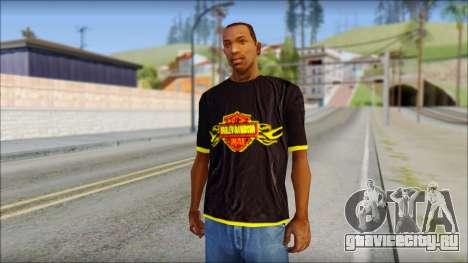 Harley Davidson T-Shirt для GTA San Andreas