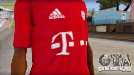 Bayern München 2013 T-Shirt для GTA San Andreas третий скриншот