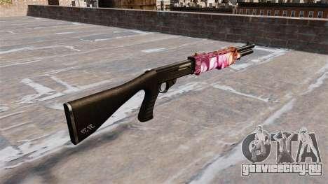 Ружьё Franchi SPAS-12 Dots для GTA 4 второй скриншот