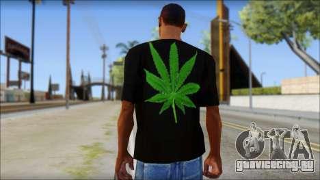 Bob Marley T-Shirt для GTA San Andreas второй скриншот