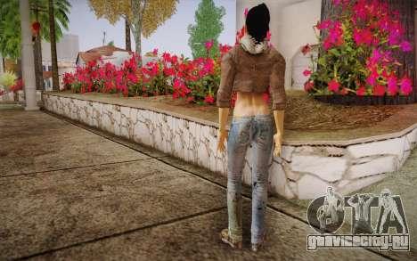 Alyx Vance CM (Adriana Lima) v.1.0 для GTA San Andreas второй скриншот