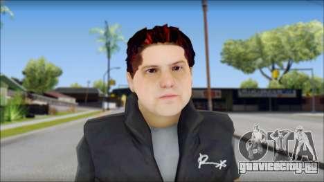 Paul from Good Charlotte для GTA San Andreas третий скриншот
