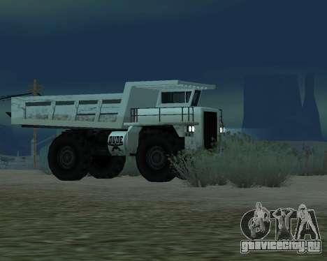 Обновлённый Dumper для GTA San Andreas вид справа