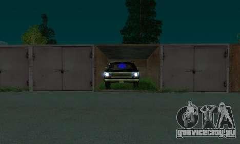 New FBI Rancher для GTA San Andreas вид справа