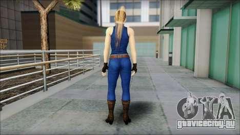Sarah from Dead or Alive 5 v2 для GTA San Andreas второй скриншот