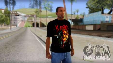 KoRn T-Shirt Mod для GTA San Andreas