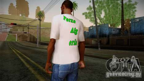 Keep Calm and Love Shirt для GTA San Andreas второй скриншот