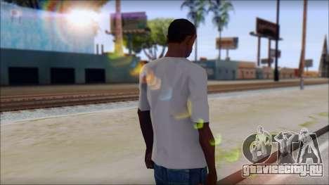 Muse Resistance T-Shirt для GTA San Andreas второй скриншот