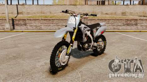 Yamaha YZF-450 v1.1 для GTA 4