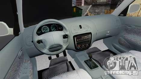 Daewoo Nubira I Sedan CDX PL 1997 для GTA 4 вид сзади