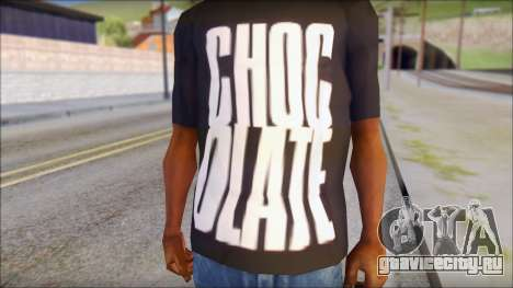 Chocolate T-Shirt для GTA San Andreas третий скриншот