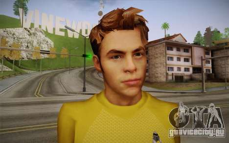 James T. Kirk From Star Trek для GTA San Andreas третий скриншот