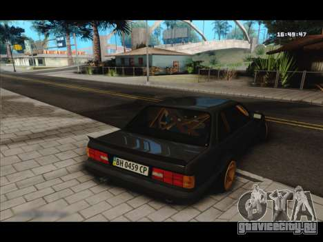 BMW e30 UDC для GTA San Andreas вид справа