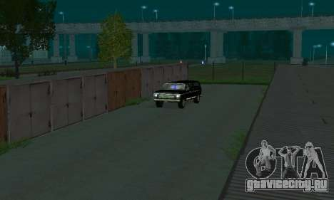New FBI Rancher для GTA San Andreas вид сзади