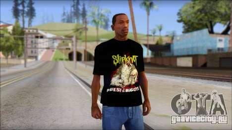 SlipKnoT T-Shirt v5 для GTA San Andreas