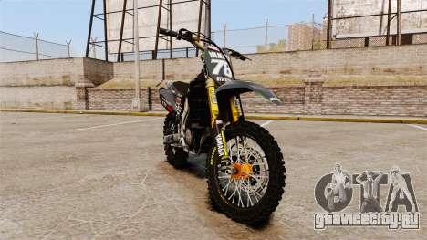 Yamaha YZF-450 v1.12 для GTA 4