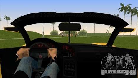 Turismo R from GTA 5 для GTA Vice City вид сзади слева