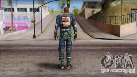Piers Azul no Gorra для GTA San Andreas второй скриншот