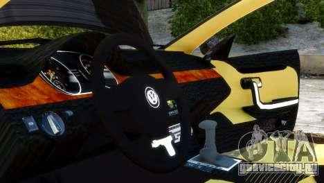 Volkswagen CC для GTA 4 вид справа