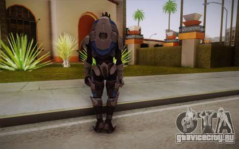 Garrus from Mass Effect 3 для GTA San Andreas второй скриншот