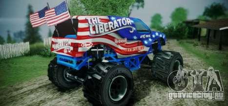 The Liberator - DLC Independence для GTA San Andreas вид слева