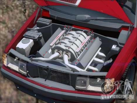 Mercedes Benz 190E Drift V8 для GTA San Andreas двигатель