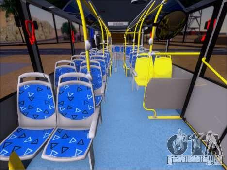 Прицеп Neobus Mega BRT Volvo B12-340M для GTA San Andreas салон