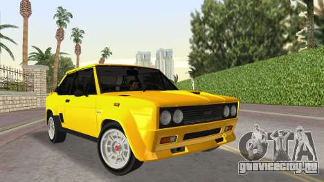 Fiat 131 Abarth Rally 1976 для GTA Vice City