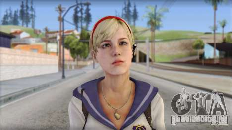 Sherry Birkin Mercenaries from Resident Evil 6 для GTA San Andreas третий скриншот