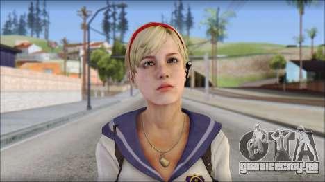 Sherry Birkin Mercenaries from Resident Evil 6 для GTA San Andreas третий скриншот
