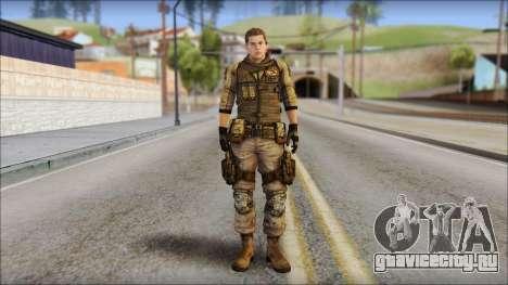 Piers Nivans Resident Evil 6 для GTA San Andreas