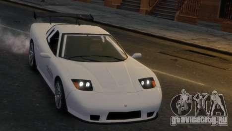 Coquette Racing для GTA 4 вид справа