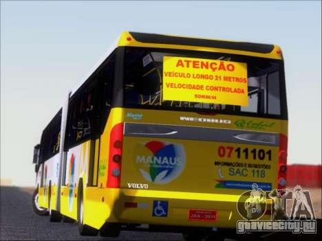 Прицеп Neobus Mega BRT Volvo B12-340M для GTA San Andreas колёса