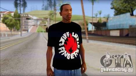 Stiff Little Fingers T-Shirt для GTA San Andreas