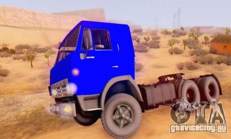 КамАЗ 54112 IVF для GTA San Andreas вид слева