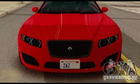 Lampadati Felon GT 1.1 для GTA San Andreas вид справа
