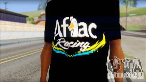 Fictional Carl Edwards T-Shirt для GTA San Andreas третий скриншот