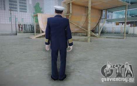 Commercial Airline Pilot from GTA IV для GTA San Andreas второй скриншот