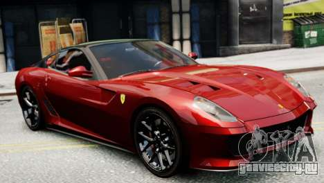 Ferrari 599 GTO для GTA 4 вид слева