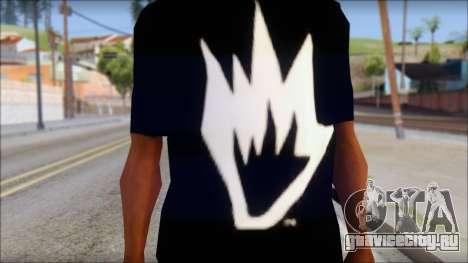 Afends T-Shirt для GTA San Andreas третий скриншот