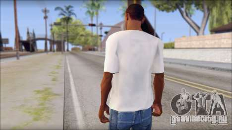 Manchester United Shirt для GTA San Andreas второй скриншот