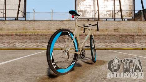 GTA V Tri-Cycles Race Bike для GTA 4 вид сзади слева
