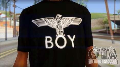 Boy Eagle T-Shirt для GTA San Andreas третий скриншот