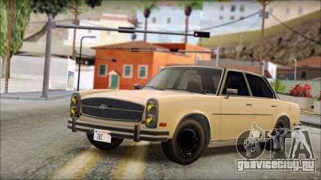 Benefactor Glendale from GTA 5 для GTA San Andreas