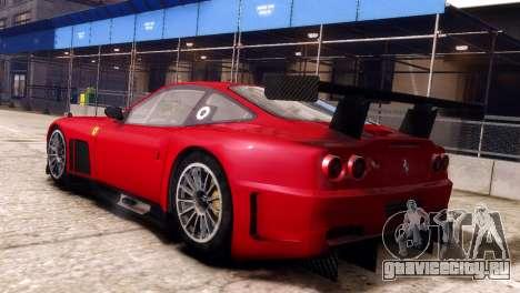 Ferrari 575 GTC для GTA 4 вид слева