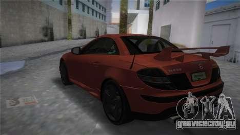 Mercedes-Benz SLK55 AMG Tuned для GTA Vice City вид слева