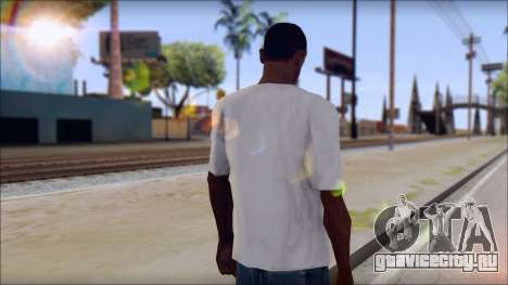 Rise Against T-Shirt V2.1 для GTA San Andreas второй скриншот