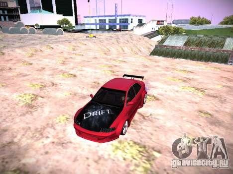 Audi A4 Экстремальных для GTA San Andreas вид сзади слева